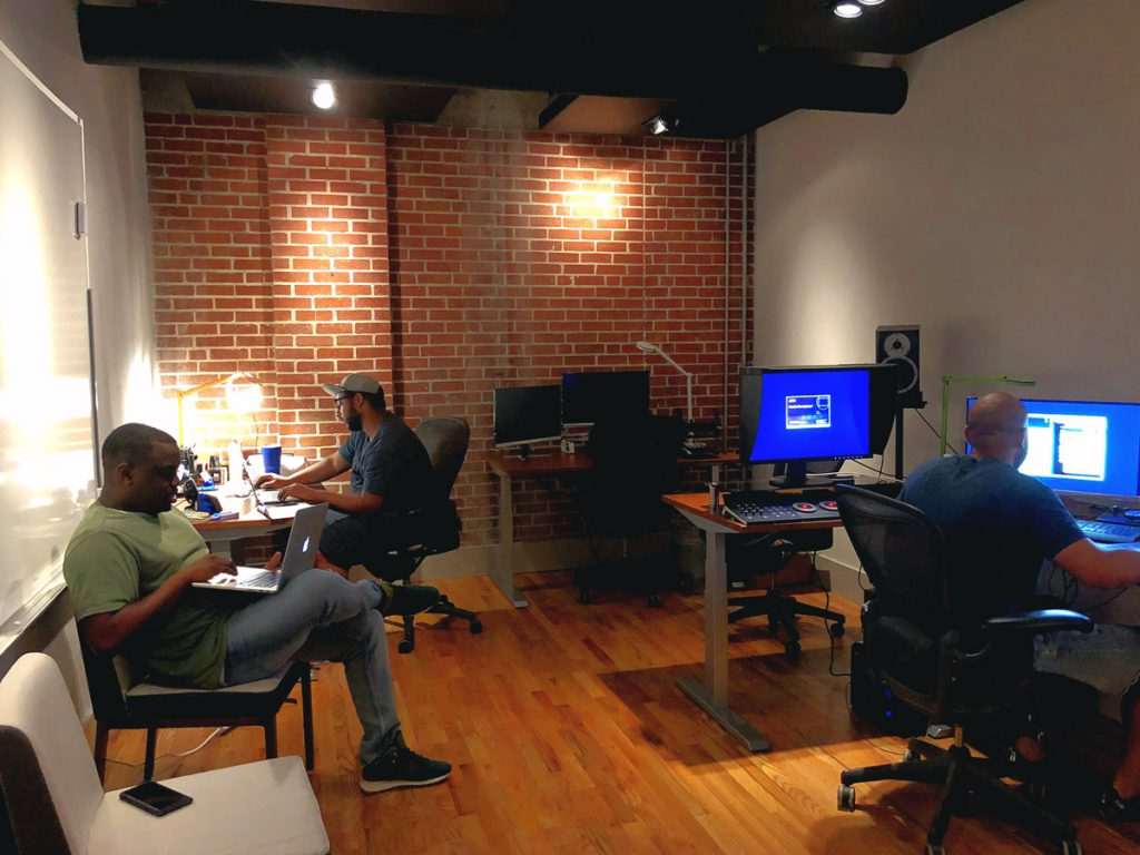 coworking team office