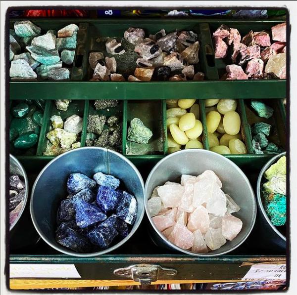 Gemstones at Lizards and Lollipops in Marietta